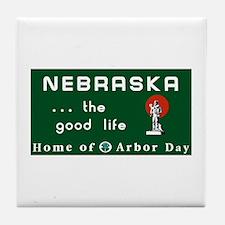 Welcome to Nebraska - USA Tile Coaster
