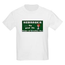 Welcome to Nebraska - USA Kids T-Shirt