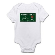 Welcome to Nebraska - USA Infant Bodysuit