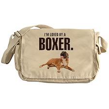 lovedbyaboxer Messenger Bag