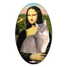 Mona Lisa - Abyssinian (blue 21) Decal