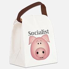 socialist_pig Canvas Lunch Bag
