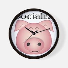 socialist_pig Wall Clock