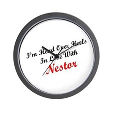 In Love with Nestor Wall Clock