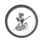 """Droidette 10"""" Wall Clock (battery included)"""