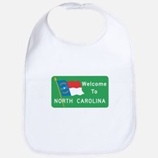 Welcome to North Carolina - USA Bib