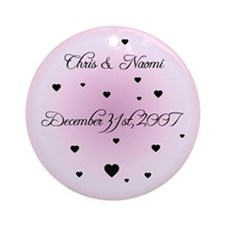 Candy FH Personalized Ornament (Round)