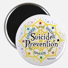 Suicide-Prevention-Lotus Magnet