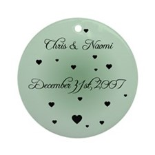 Olive FH Personalized Ornament (Round)