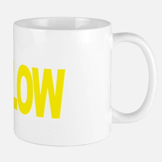 Think-YELLOW-Suicide-Prevention-blk Mug