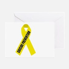 Suicide-Prevention-Hope-BLK Greeting Card