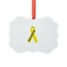 Suicide-Prevention-Hope-BLK Ornament