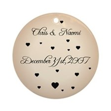 Sand FH Personalized Ornament (Round)