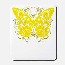 Suicide-Prevention-Butterfly-blk Mousepad