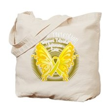 Suicide-Prevention-Butterfly-3-blk Tote Bag