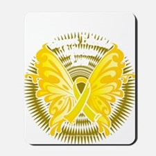 Suicide-Prevention-Butterfly-3-blk Mousepad