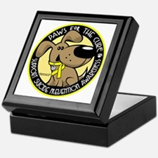 Paws-for-the-Cure-Suicide-Prevention Keepsake Box