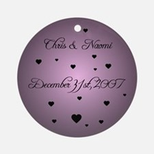 Ultra Violet FH Personalized Ornament (Round)
