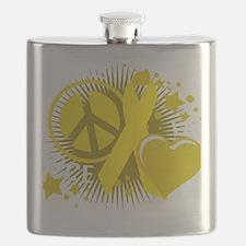Suicide-PLP-blk Flask