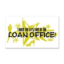 LOAN OFFICE Rectangle Car Magnet