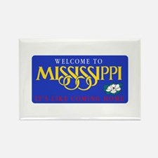 Welcome to Mississippi - USA Rectangle Magnet