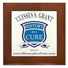 Ulysses S GRANT 18 TRUMAN dark shirt Framed Tile