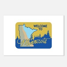 Welcome to Minnesota - USA Postcards (Package of 8