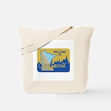 Welcome to Minnesota - USA Tote Bag