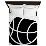 Basketball Luxe Full/Queen Duvet Cover