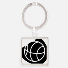 j0325764_BLACK Square Keychain