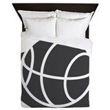 Basketball girls Duvet Covers