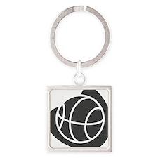 j0325764_GRAY Square Keychain