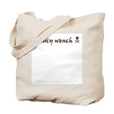 Saucy Wench Pirate Tote Bag