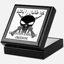 2-afghann Keepsake Box
