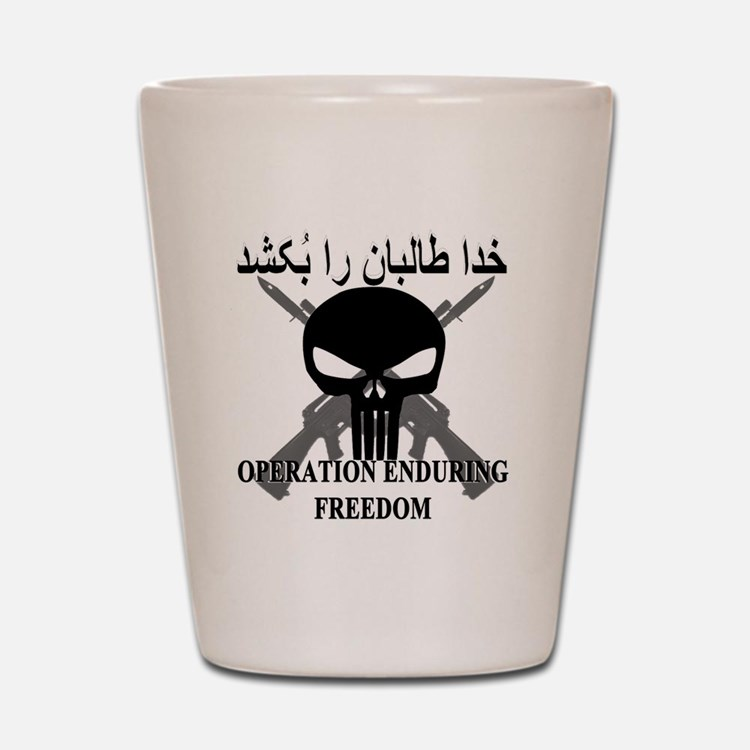 2-afghann Shot Glass