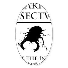 Carpe Insectum D black 3 Decal