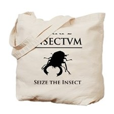 Carpe Insectum D black 3 Tote Bag
