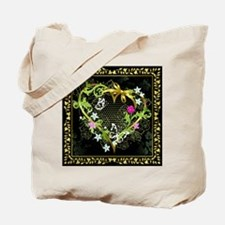 Entwined Heart Tote Bag