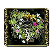Entwined Heart Mousepad