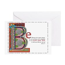 2-bstrongfinalcolor Greeting Card