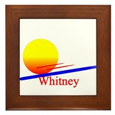 Whitney Framed Tile