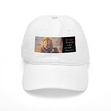 """""""The Scepter"""" Lion of Judah Baseball Cap"""
