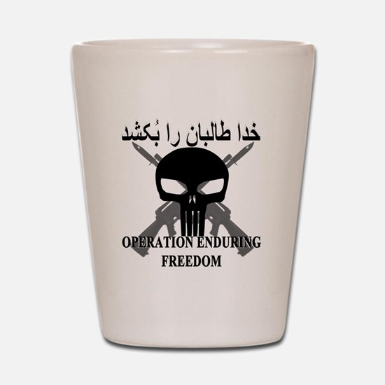 3-afghann Shot Glass
