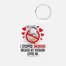 Stopped-Smoking-Husband Keychains