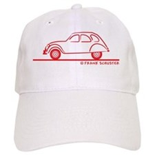 2CV_red Baseball Cap