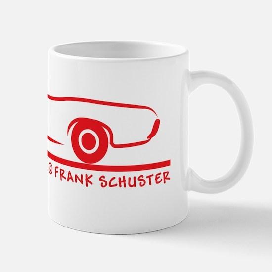 69_Pontiac_GTO_Conv_red Mug