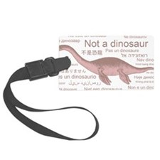 Plesiosaurus_NotADinosaur Luggage Tag