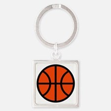 sl00142_ORANGE Square Keychain
