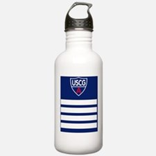 USCGAux-Rank-DC-Slider Water Bottle