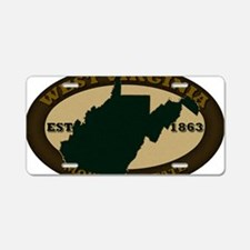 West Virginia Est 1863 Aluminum License Plate
